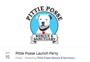 Pittie Posse Launch Party